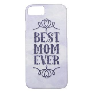 Best Mom Ever (purple) iPhone 7 Case