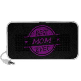 Best Mom Ever Purple iPod Speaker