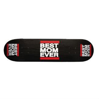 Best Mom Ever Red Skateboard Deck