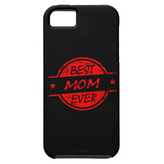 Best Mom Ever Red Tough iPhone 5 Case