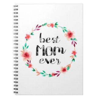 Best Mom Ever Spiral Notebooks