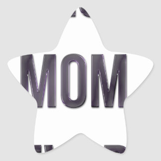 Best Mom Ever Star Stickers