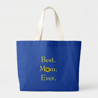 Best Mom Ever Sunflower Tote Tote Bag