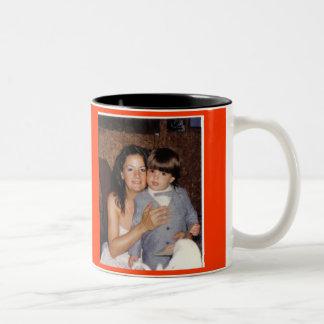 BEST MOM EVER Two-Tone COFFEE MUG