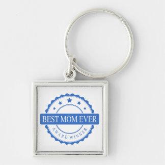 Best Mom Ever - Winner Award - Blue Key Chain