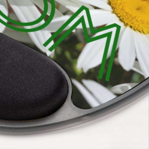 BEST MOM gifts mousepads White Daisy Flowers gift Gel Mousepads