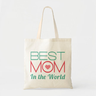 Best Mom in The World Mothers Day Budget Tote Bag