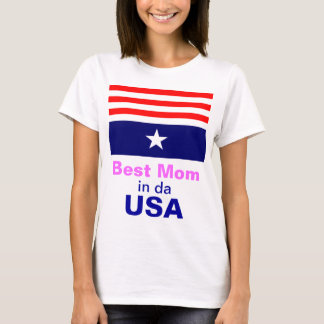 Best Mom in USA T-Shirt