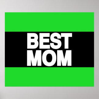 Best Mom Lg Green Print