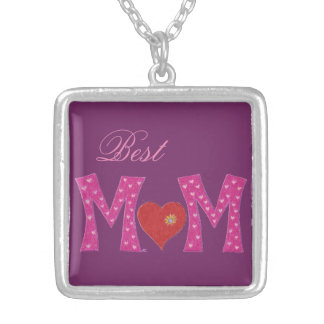 Best Mom , Mother's Day necklace