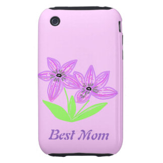 Best Mom Mother's day Tough iPhone 3 Covers