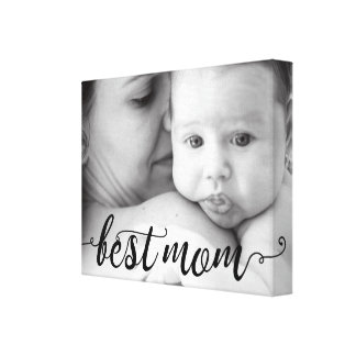 Best Mom photo template canvas