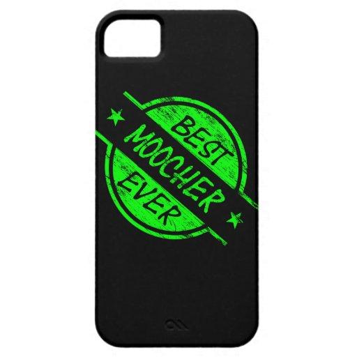 Best Moocher Ever Green iPhone 5 Covers