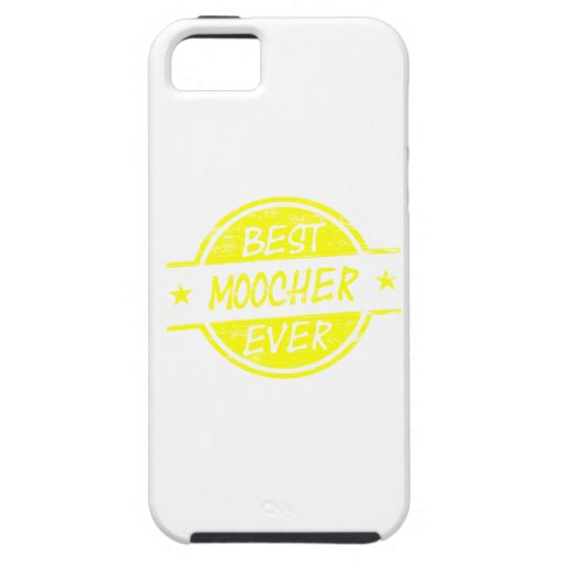 Best Moocher Ever Yellow iPhone 5 Cases
