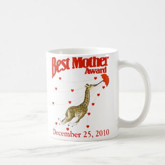 Best Mother Award Basic White Mug