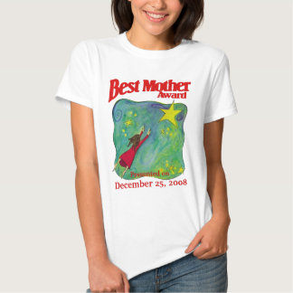 Best Mother Award- Christmas Present Shirts