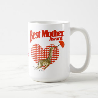 Best Mother Award Keepsake Coffee Mug