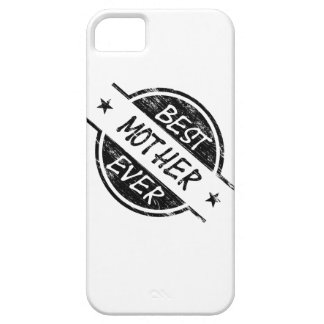 Best Mother Ever Black iPhone 5 Cases