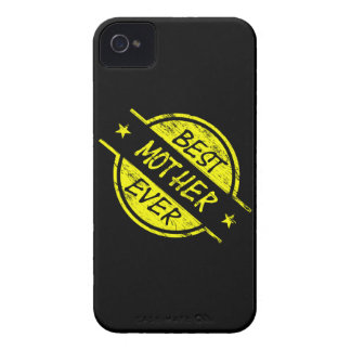 Best Mother Ever Yellow Case-Mate iPhone 4 Cases