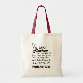 Best Mother In The World Budget Tote Bag