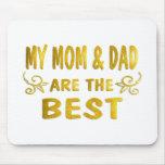 Best Mum & Dad Mouse Mats