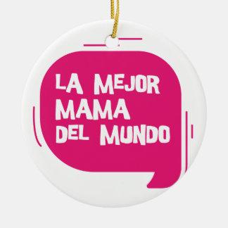Best Mum Ever Ceramic Ornament