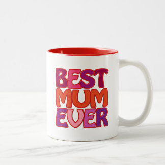 BEST MUM EVER - fun gorgeous MUG for mother