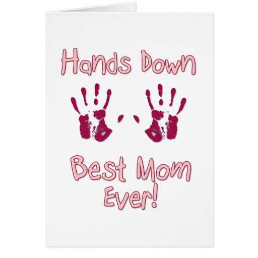 Best mum ever greeting card zazzle for Best holiday cards ever