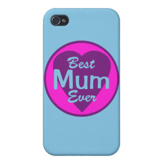 Best Mum Ever Personalized iPhone 4 Cases