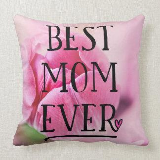 Best Mum Ever Pink Tulip Cushion