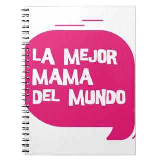 Best Mum Ever Spiral Note Book