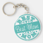 Best mum - rubber stamp effect-