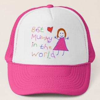 Best Mummy in World Trucker Hat