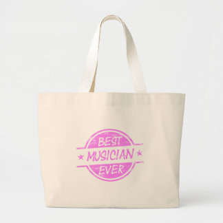Best Musician Ever Pink Canvas Bags