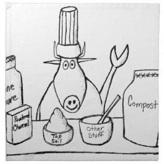 Best Must Read Organic Vegetable Garden Gardening Napkin