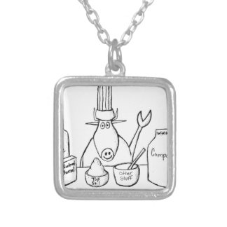 Best Must Read Organic Vegetable Garden Gardening Silver Plated Necklace