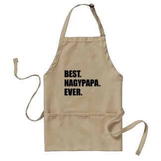 Best Nagypapa Ever Hungarian Grandfather Standard Apron