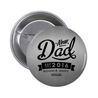 Best New Dad 2016 6 Cm Round Badge