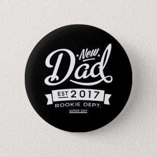 Best New Dad 2017 Dark 6 Cm Round Badge