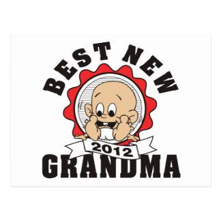 Best New Grandma 2012 Postcard