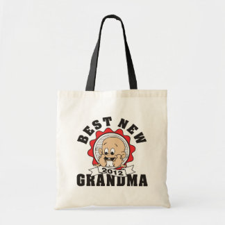 Best New Grandma 2012 Canvas Bags
