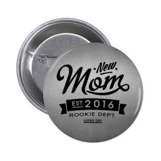 Best New Mom 2016 6 Cm Round Badge