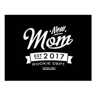Best New Mom 2017 Dark Postcard