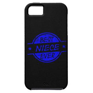 Best Niece Ever Blue iPhone 5 Case