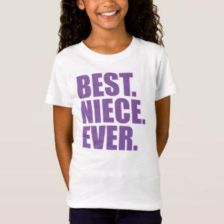Best. Niece. Ever. (purple) T-Shirt