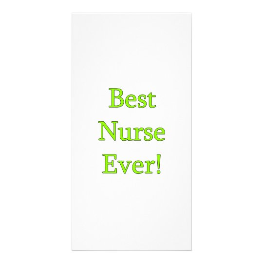 Best Nurse Ever Card