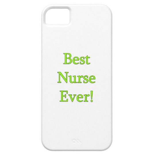 Best Nurse Ever Case For The iPhone 5