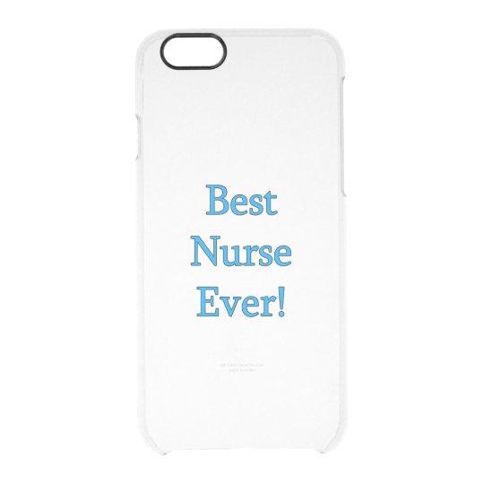Best Nurse Ever Clear iPhone 6/6S Case