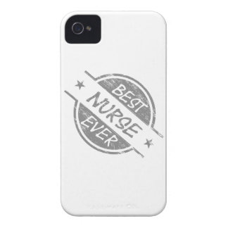Best Nurse Ever Gray iPhone 4 Cases