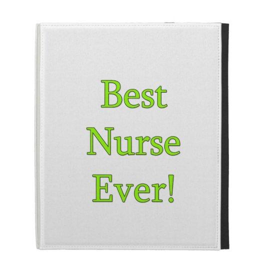 Best Nurse Ever iPad Cases